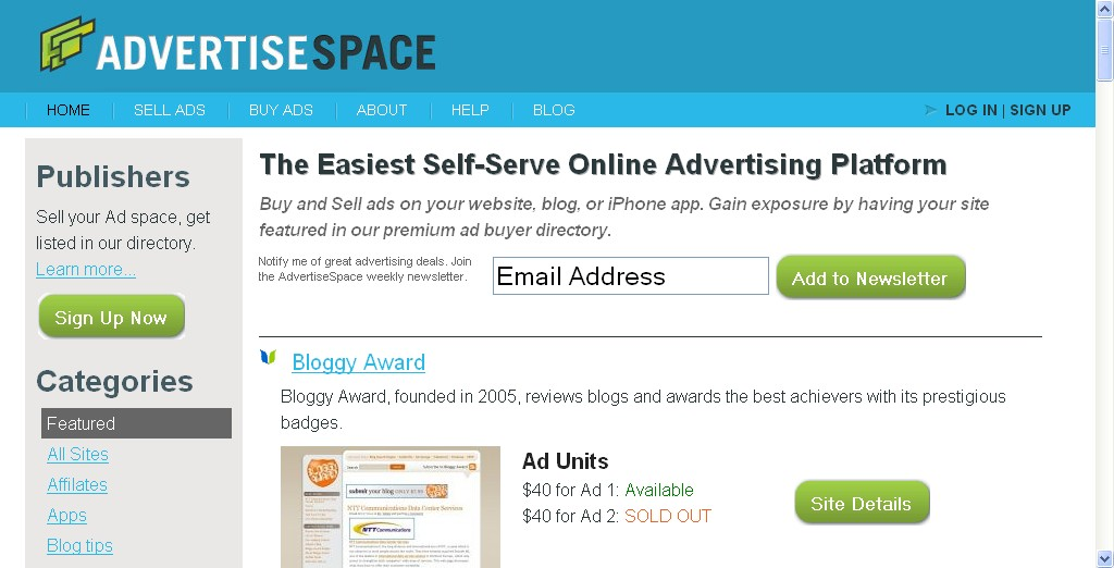 AdvertiseSpace Top 5 Alternatives to BuySellAds