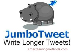 Jumbo tweets Best Tools of 2012 to post More than 140 Characters Tweet on twitter