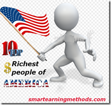 RICHEST AMERICAN thumb TOP 10 Richest People of America In 2012