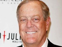 david koch TOP 10 Richest People of America In 2012