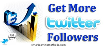 get more twitter followers thumb 25 Ways To Increase Twitter Followers For Free   Part2