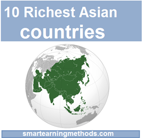 10 richest asian countries Top 10 Richest Countries of Asia in 2012