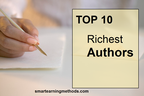 TOP 10 RICHEST AUTHORS OF THE WORLD-2012