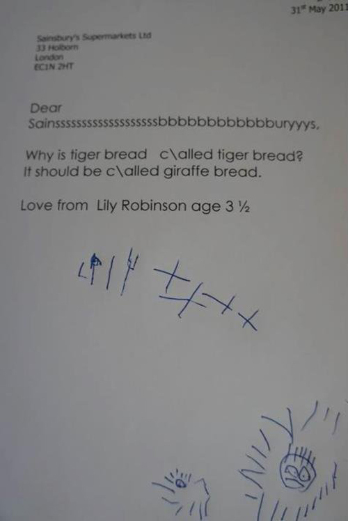 cute letter