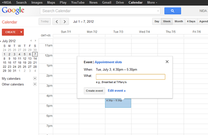 add events to your google calendar