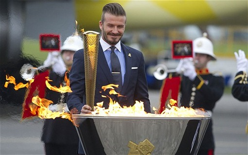 david beckham at olympics 2012 London Olympics 2012 Opening Ceremony Expenditure Highlights!