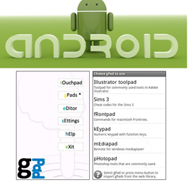gpad How to use Android Phone as Keyboard and Mouse?