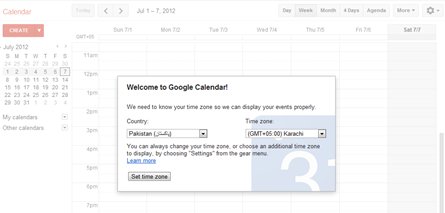welcome to google calendar