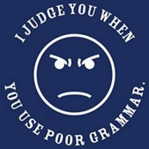 poor grammar can cost you your job
