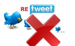 how to delete retweets