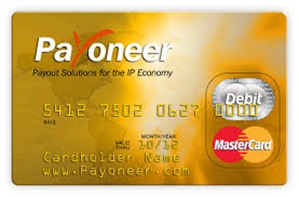 how to make money with payoneer mastercard